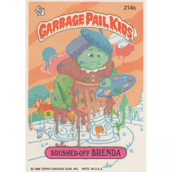 Garbage Pail Kids – Brushed-Off Brenda