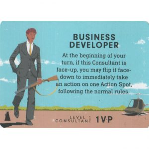 Consultant: Business Developer – Promo Card