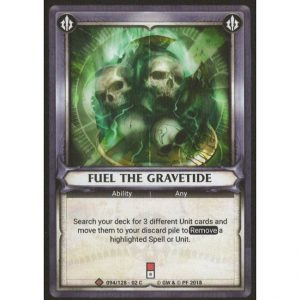 Fuel the Gravetide (Unclaimed)