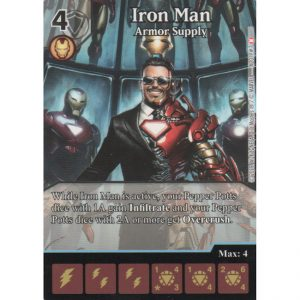 Iron Man – Armor Supply – Marvel Dice Masters – Full Art