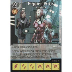 Pepper Potts – Virginia – Marvel Dice Masters – Full Art