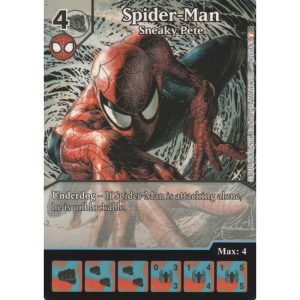 Spider-Man – Sneaky Pete – Marvel Dice Masters – Full Art