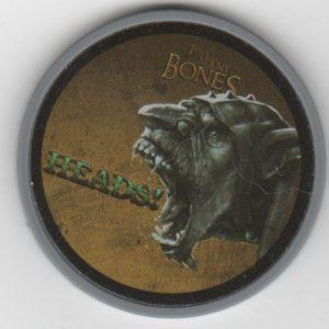 Too Many Bones Premium Head/Tails Chip