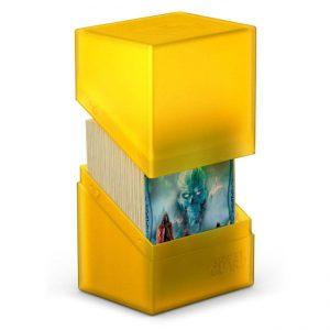 Ultimate Guard Boulder™ Deckbox 80+ Standard Size Amber