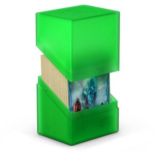 Ultimate Guard Boulder™ Deckbox 80+ Standard Size Emerald