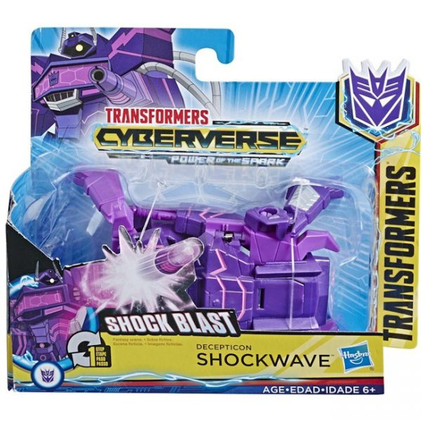 Transformers Cyberverse – Power of the Spark – Shock Blast Shockwave