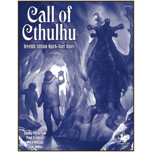 Call of Cthulhu – 7th Edition Quick Start Rules