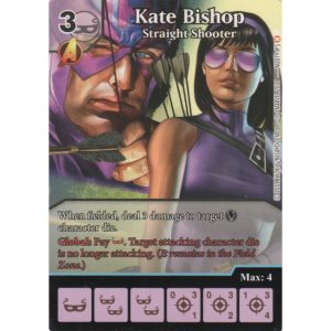 Kate Bishop – Straight Shooter – Marvel Dice Masters – Full Art