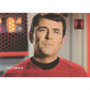 #149 – Chief Engineer – Lieutenant Commander Montgomery Scott