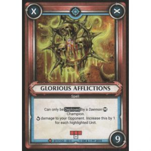 Glorious Afflictions (unclaimed)