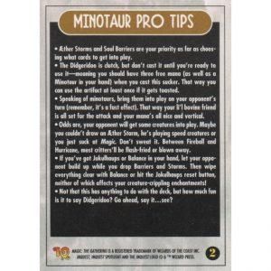 InQuest Spotlight: Minotaurs – Theme Deck Card