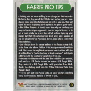InQuest Spotlight: Faeries – Theme Deck Card