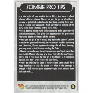 InQuest Spotlight: Zombie – Theme Deck Card