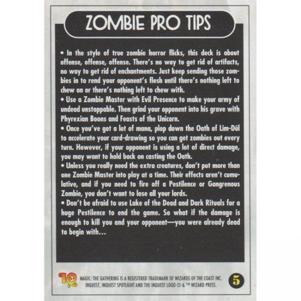InQuest Spotlight: Zombie – Theme Deck Card