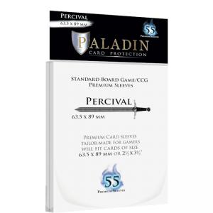 Paladin card Protectors – Season 4 – Percival – 63.5x89mm Sleeves