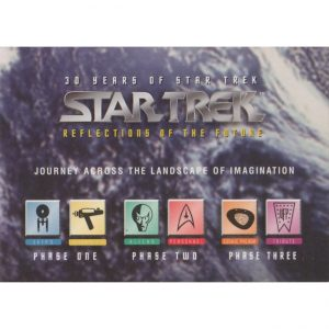 30 Years of Star Trek – Promo Card