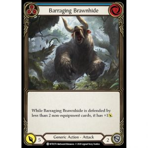 Barraging Brawnhide – Blue