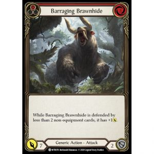 Barraging Brawnhide – Red