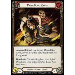 Demolition Crew – Red