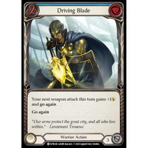 Driving Blade – Blue