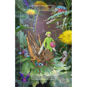 Scute Swarm/Insect Token – Sparkly – Johannes Voss