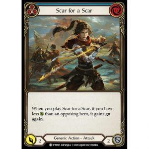Scar for a Scar – Blue