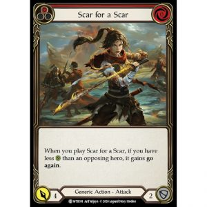 Scar for a Scar – Red