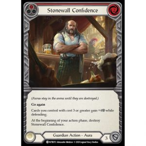 Stonewall Confidence – Red