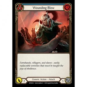 Wounding Blow – Blue
