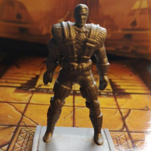 X-Men – Cable – Plastic Miniature – 6cm (used)