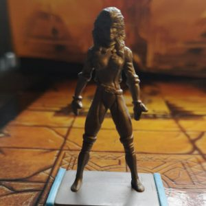 X-Men – Rogue – Plastic Miniature – 60mm (used)