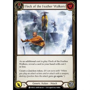 Flock of the Feather Walkers – Red