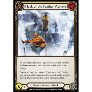 Flock of the Feather Walkers – Yellow